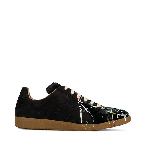 Paint Drop Replica Sneakers Black