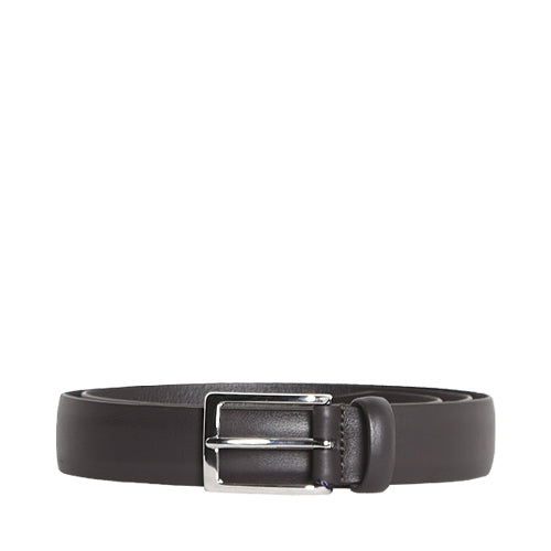 Classic Leather Belt Dark Brown