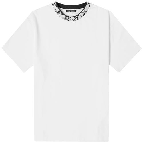Eternal Rib Face T-Shirt Optic White