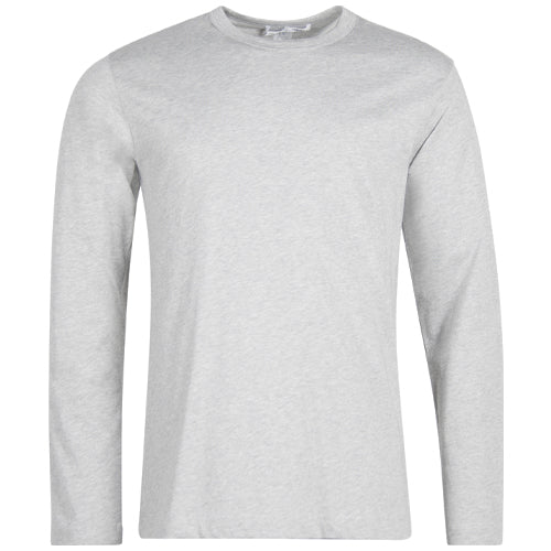 SHIRT Long Sleeve T-Shirt Grey Melange