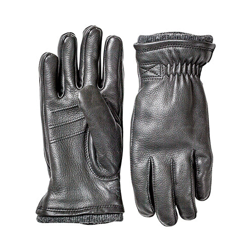 Deerskin Swisswool Gloves  Black