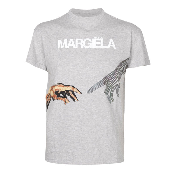 Mako T-shirt Grey Melange
