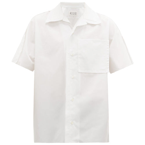 Double Collar Shirt White