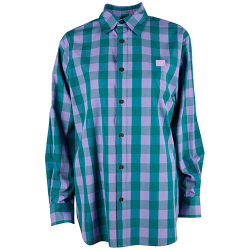 Saco Check Shirt Lavender