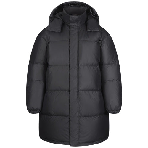 Dyngja Down Coat Black Pyroxene