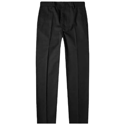Ayon Cotton Twill Chinos Black