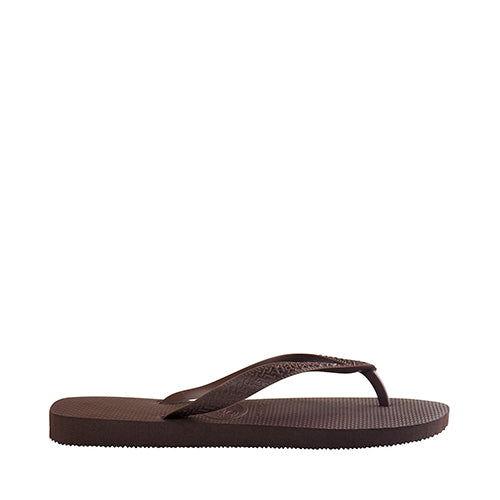 Top Flip Flops Dark Brown