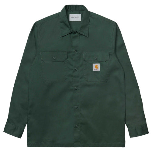 Master L/S Shirt Dark Green