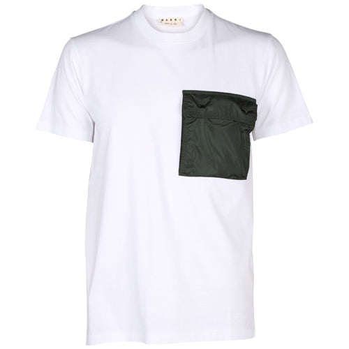 Packable Pocket T-Shirt White