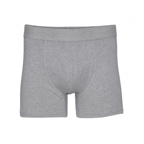 Classic Organic Boxer Briefs Heather Grey