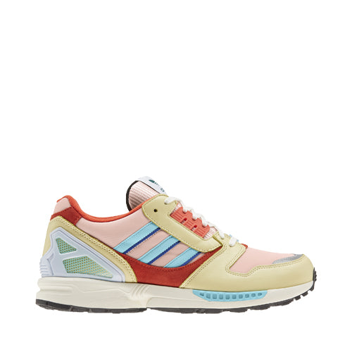 ZX 8000 Sneakers Vapour Pink/Clear Aqua/Easy Yellow