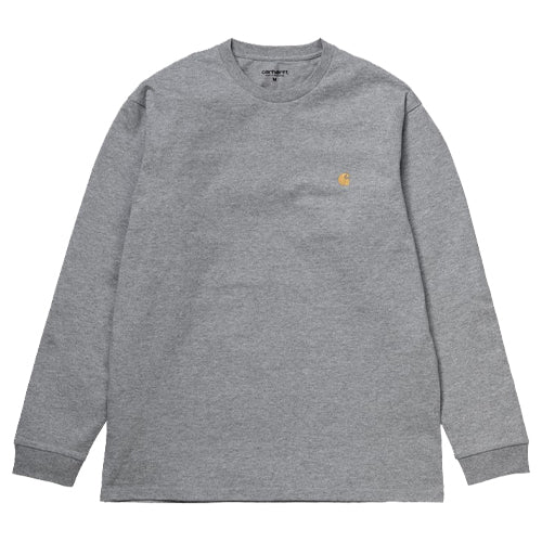 Chase L/S T-Shirt Heather Grey