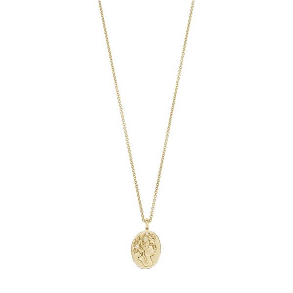 Camelia Necklace Gold