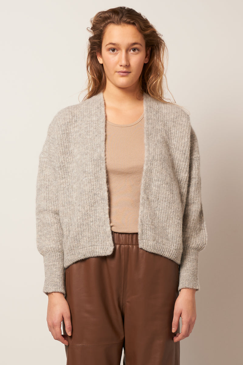 East Cardigan Grey Melange