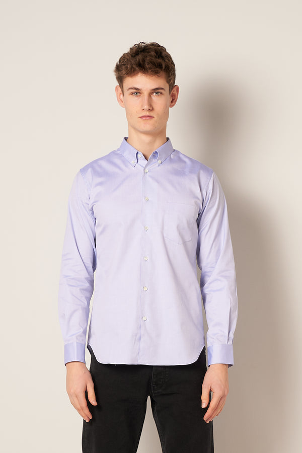 Button Down Oxford Shirt Light Blue