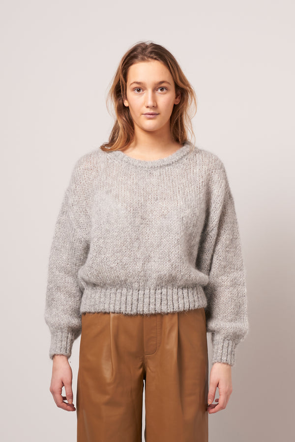 Vogbay Sweater Grey Melange