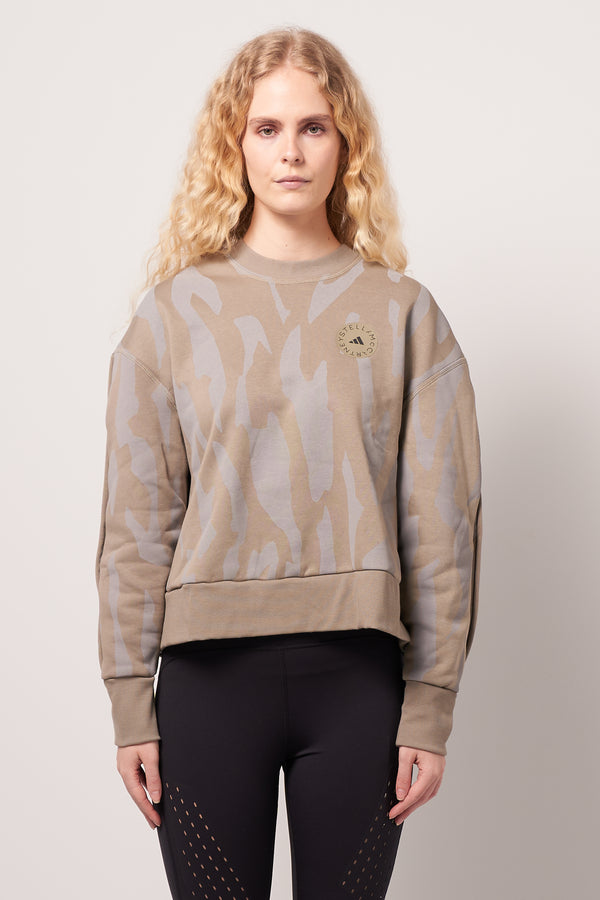 Sweatshirt Clay/Dove Grey