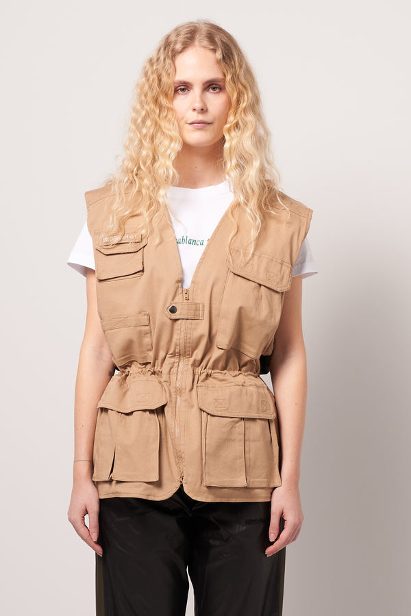 Fisher Woman West Khaki