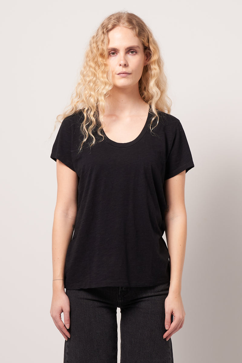 Jacksonville Round Neck T-shirt Black