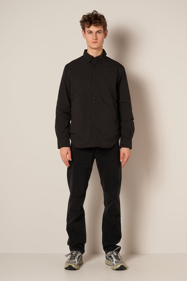 Alvaro Overshirt Black