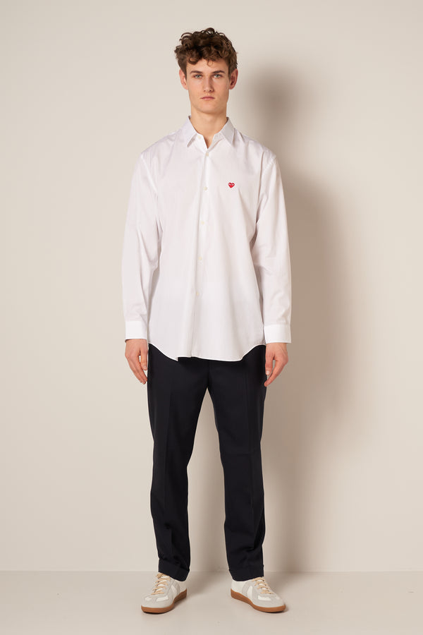 Red Heart Play Shirt White