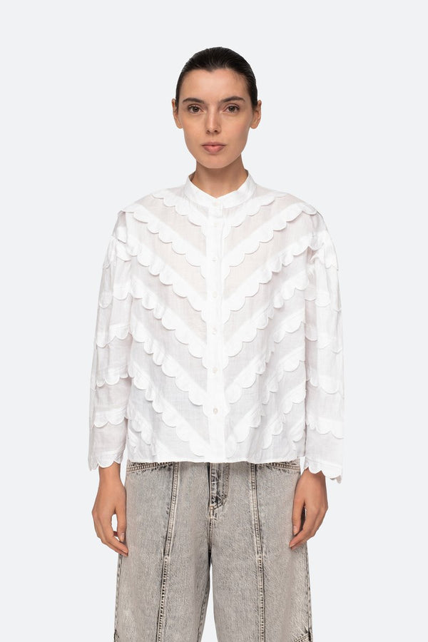 Shannon Blouse White