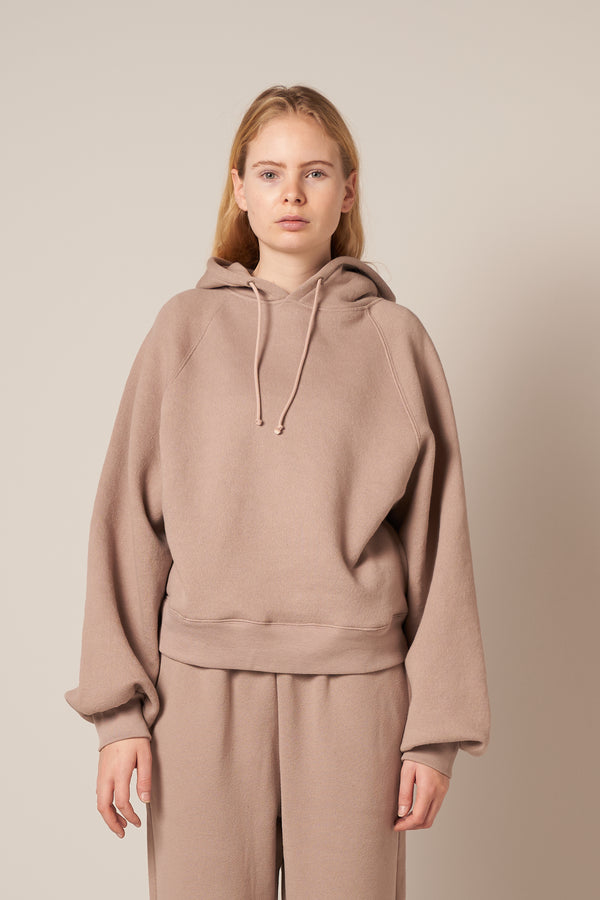 Ikatown Hooded Sweat Taupe