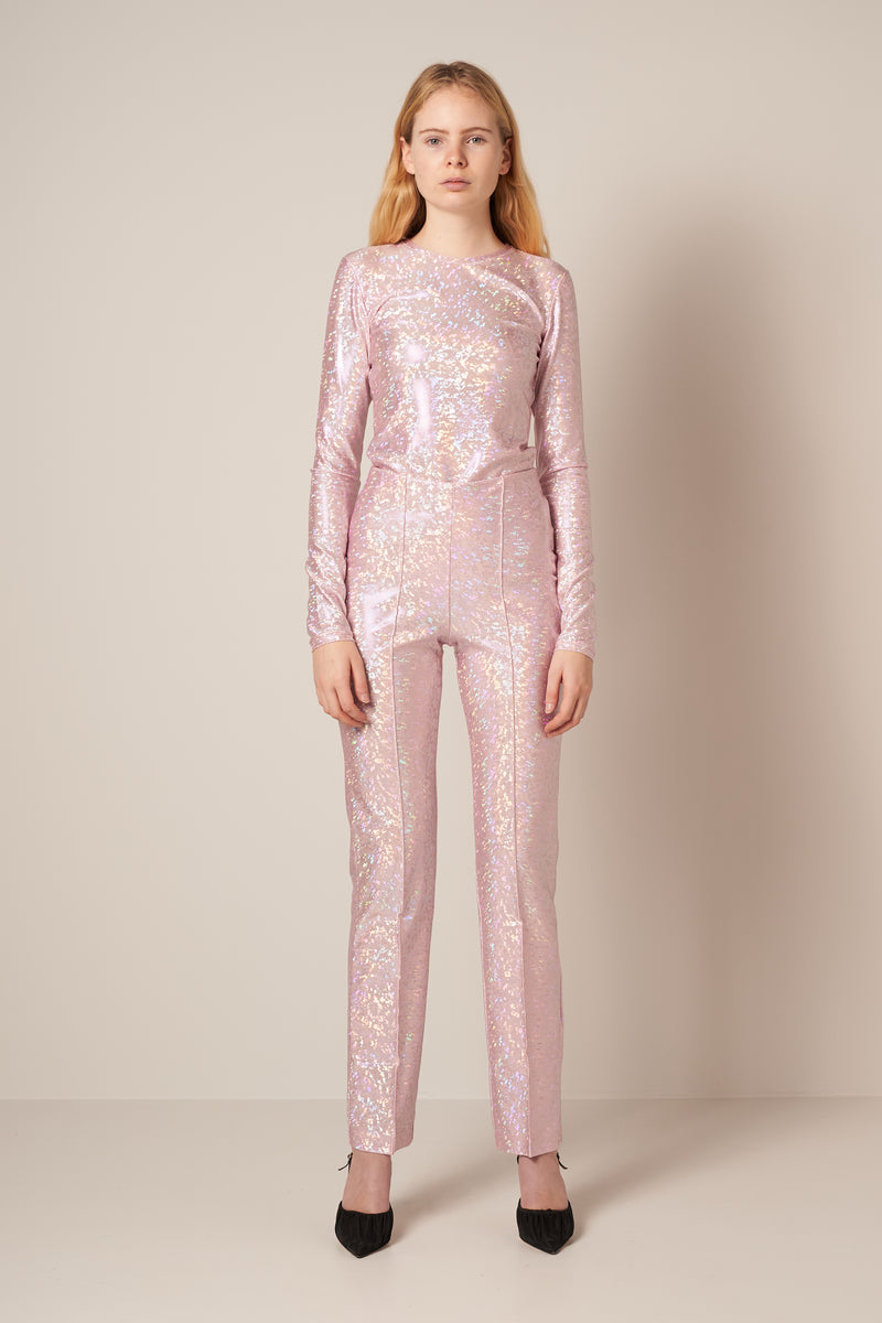 Lissi Pants Baby Pink Shimmer