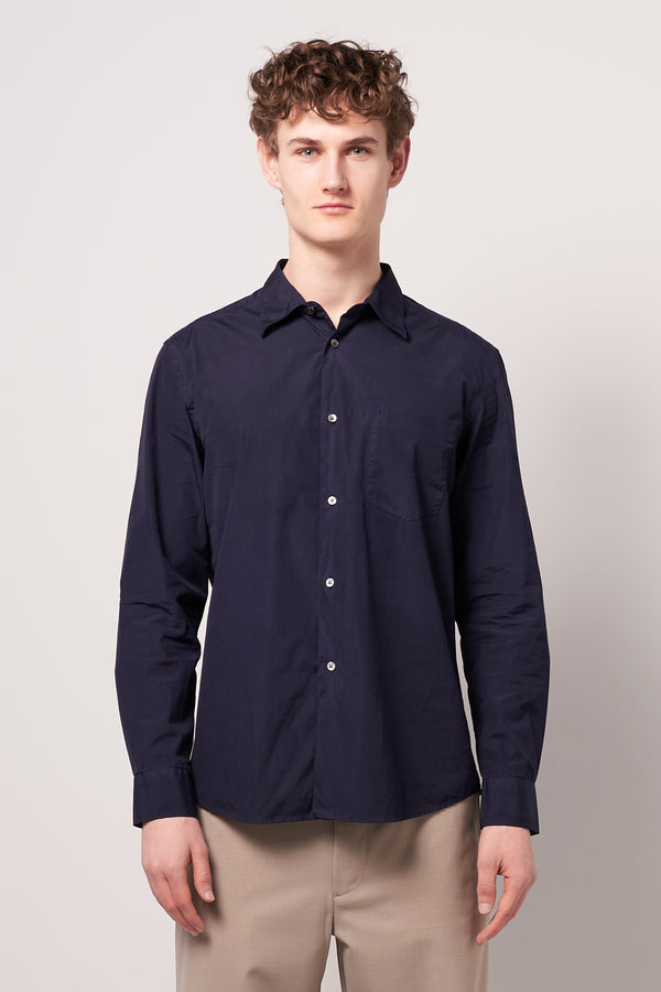 Treated Staple Shirt Navy