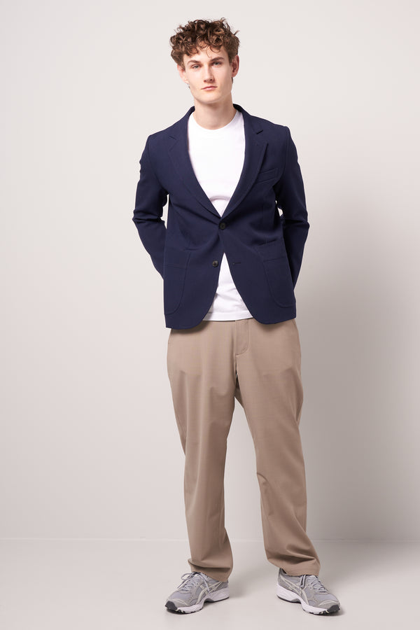 Two Button Jacket Navy