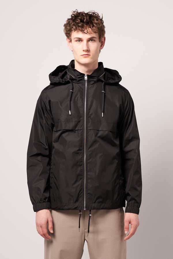 Zipped Jacket Black
