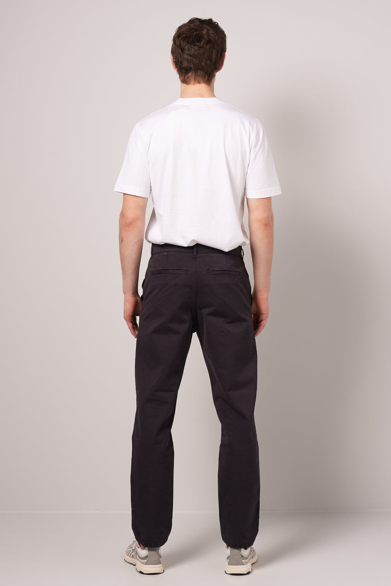2 Ply Work Pant Grey Navy