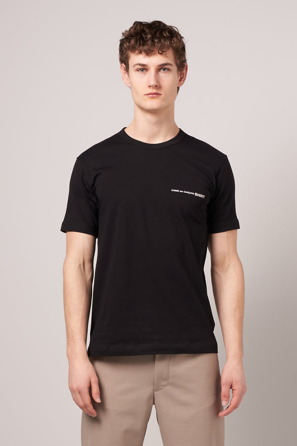 Short Sleeve CDG T-shirt Black