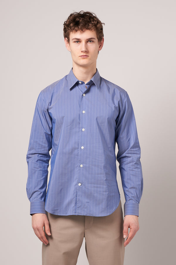 Dan Shirt Sky Blue Stripe