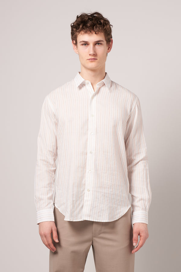 Dan Shirt Tencel Stripe