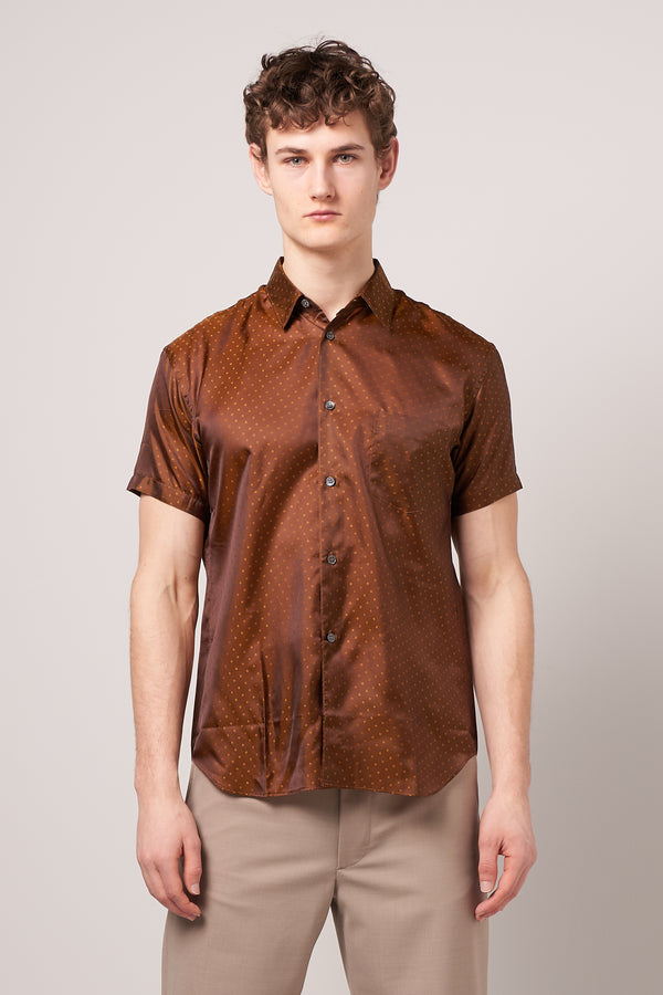 Short Sleeve Cupra Shirt Khaki