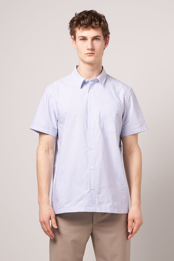 Janis Short Sleeve Shirt Blue