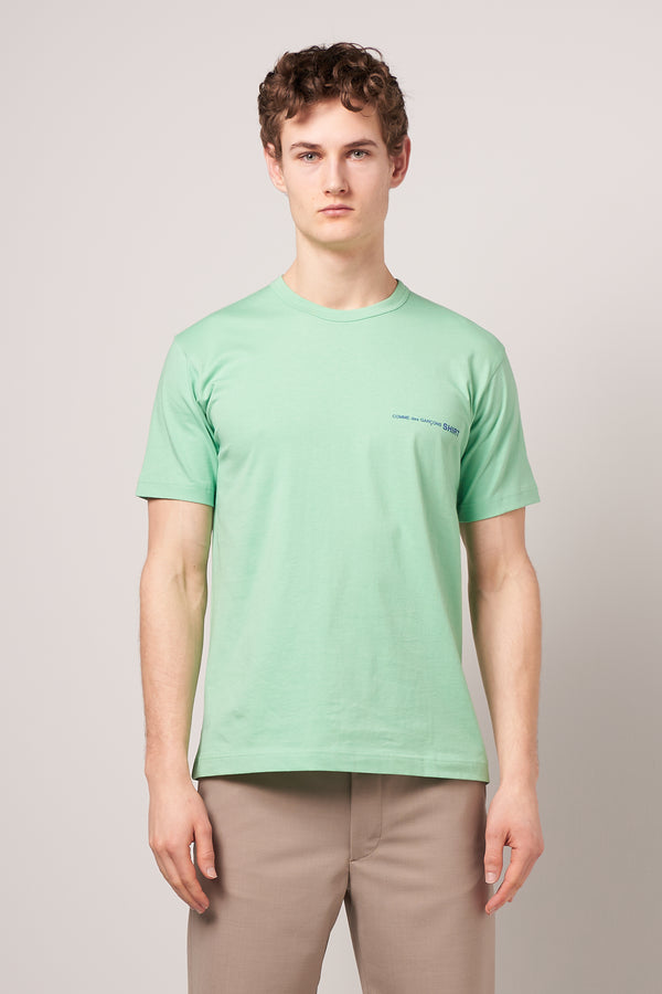 Short Sleeve CDG T-shirt Green