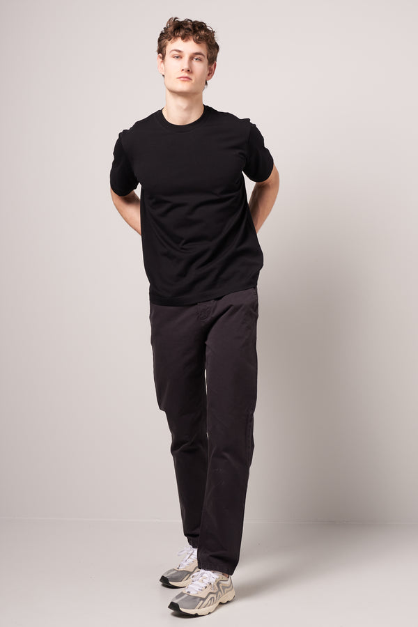 Supima Test Tee Black