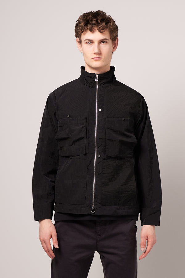 Dyed Sailor Jacket Black