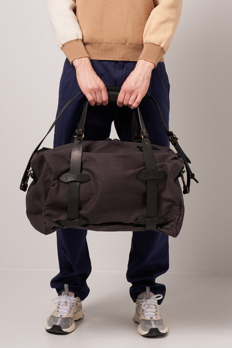 Medium Rugged Twill Duffle Bag Cinder