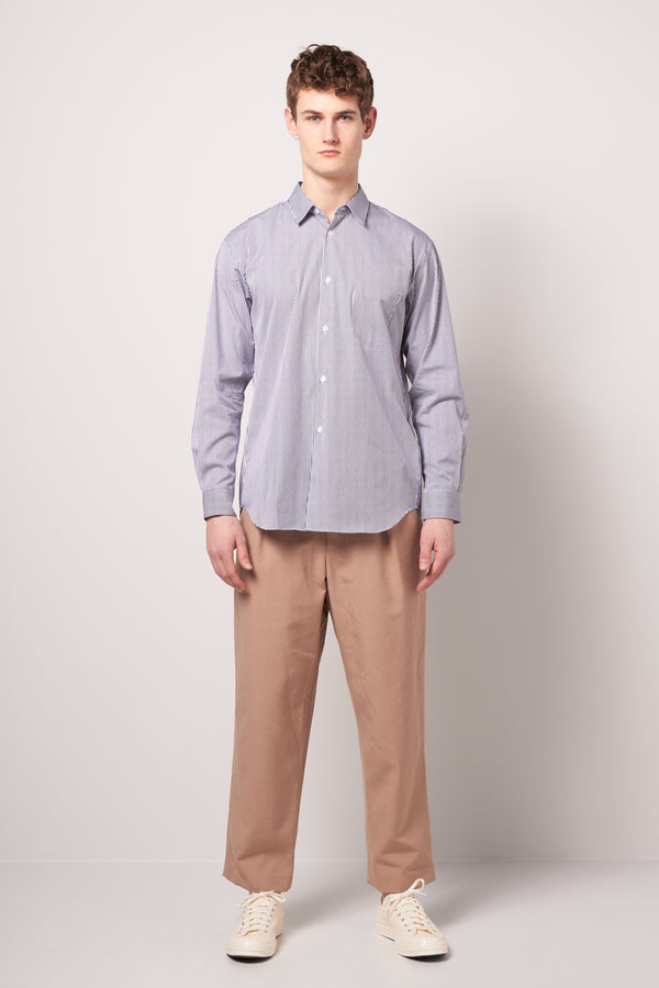 Dan Shirt Thin Blue Stripe