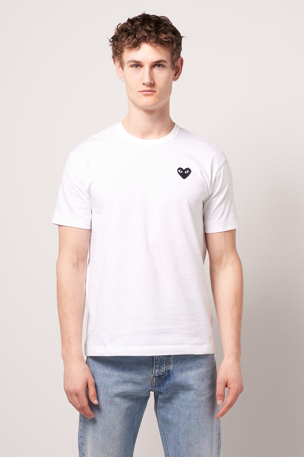 Black Heart T-shirt White