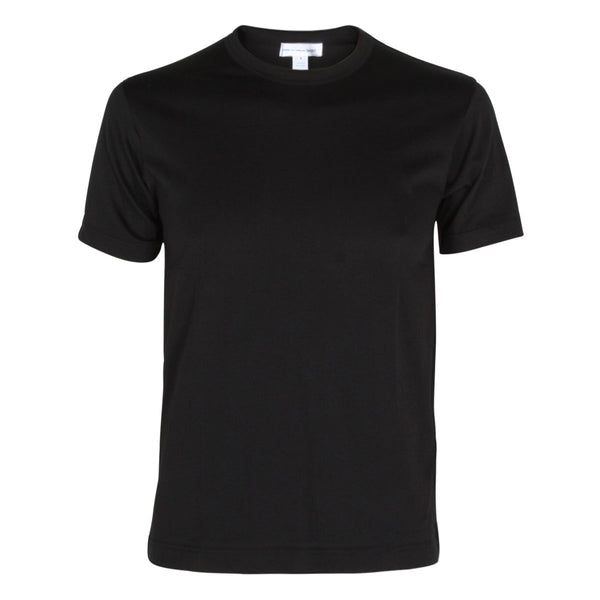 Basic Knit T-shirt  Black
