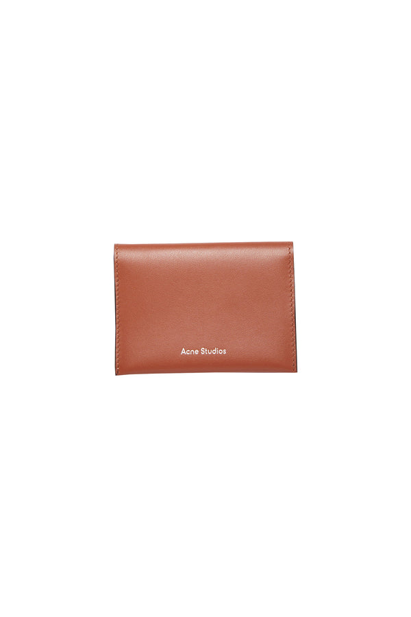Bifold Card Holder Almond Brown