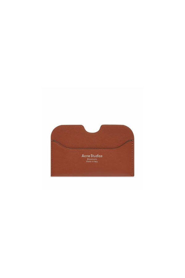 Elmas Card Holder Almond Brown
