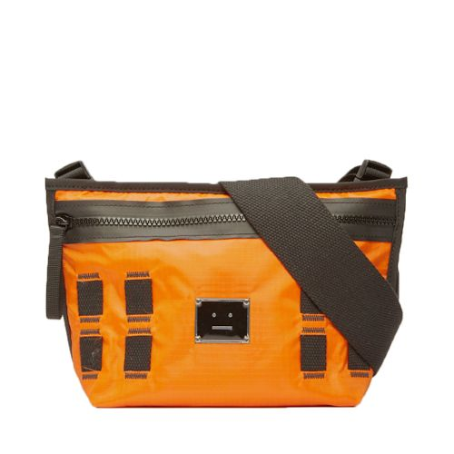 Agios Plaque Face Bag Dark Orange