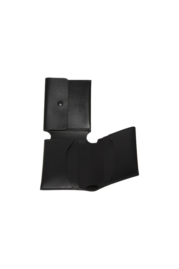 Trifold Card Wallet Black