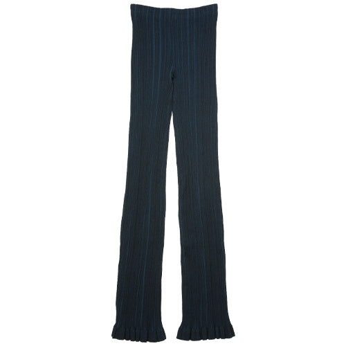 Ribbed Trousers Midnight Blue