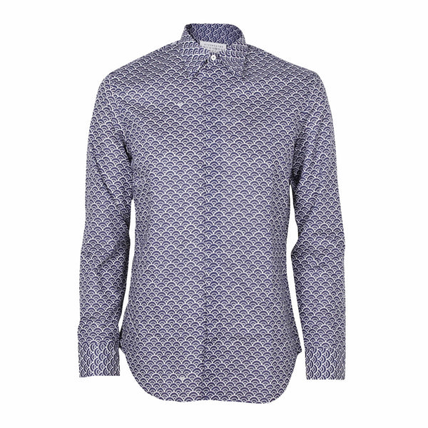 Printed Shirt Navy